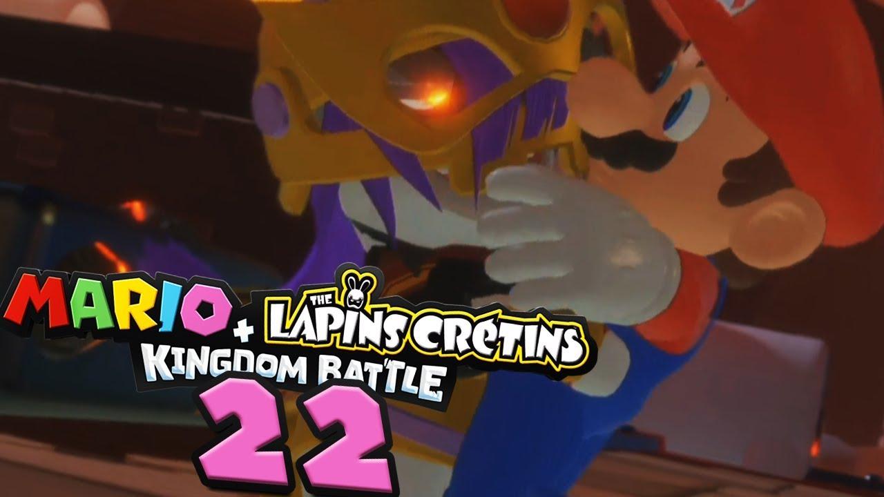 La Reine Des Laves Embrasse Mario Mario Lapins Crétins 22