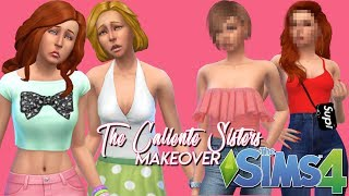 WACK to SNACK! | The Caliente Sisters Makeover | The Sims 4