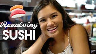 VLOG: Eat with us⎜Revolving Sushi Bar