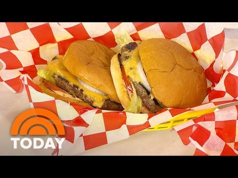 Camila Alves Cooks Up An In-N-Out-Style Burger | TODAY