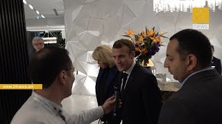 Մենք կիսով չափ հայրենակիցներ ենք . Ֆրանսիայի նախագահի բացառիկ մեկնաբանությունը 24News - ին