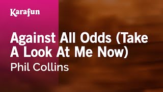 Baixar - Karaoke Against All Odds Take A Look At Me Now Phil Collins Grátis