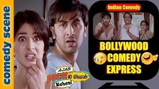 Ranbir Kapoor Best Comedy Scene - Bollywood Comedy Express - Ajab Prem Ki Ghazab Kahani