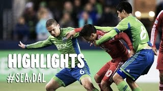 HIGHLIGHTS: Seattle Sounders vs FC Dallas | November 10, 2014