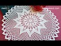 Gambar cover CROCHET How to crochet doily EASY Tutorial Part 1, 1   8 round