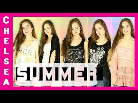 SUMMER Clothing Haul | Chelsea Crockett