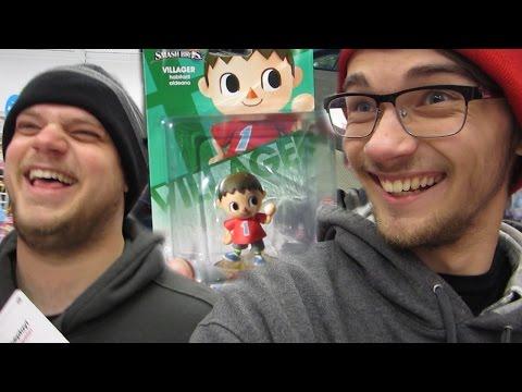 The Amiibo Quest: Episode 18 - Villager Restock @ Toys R Us! - Horbro