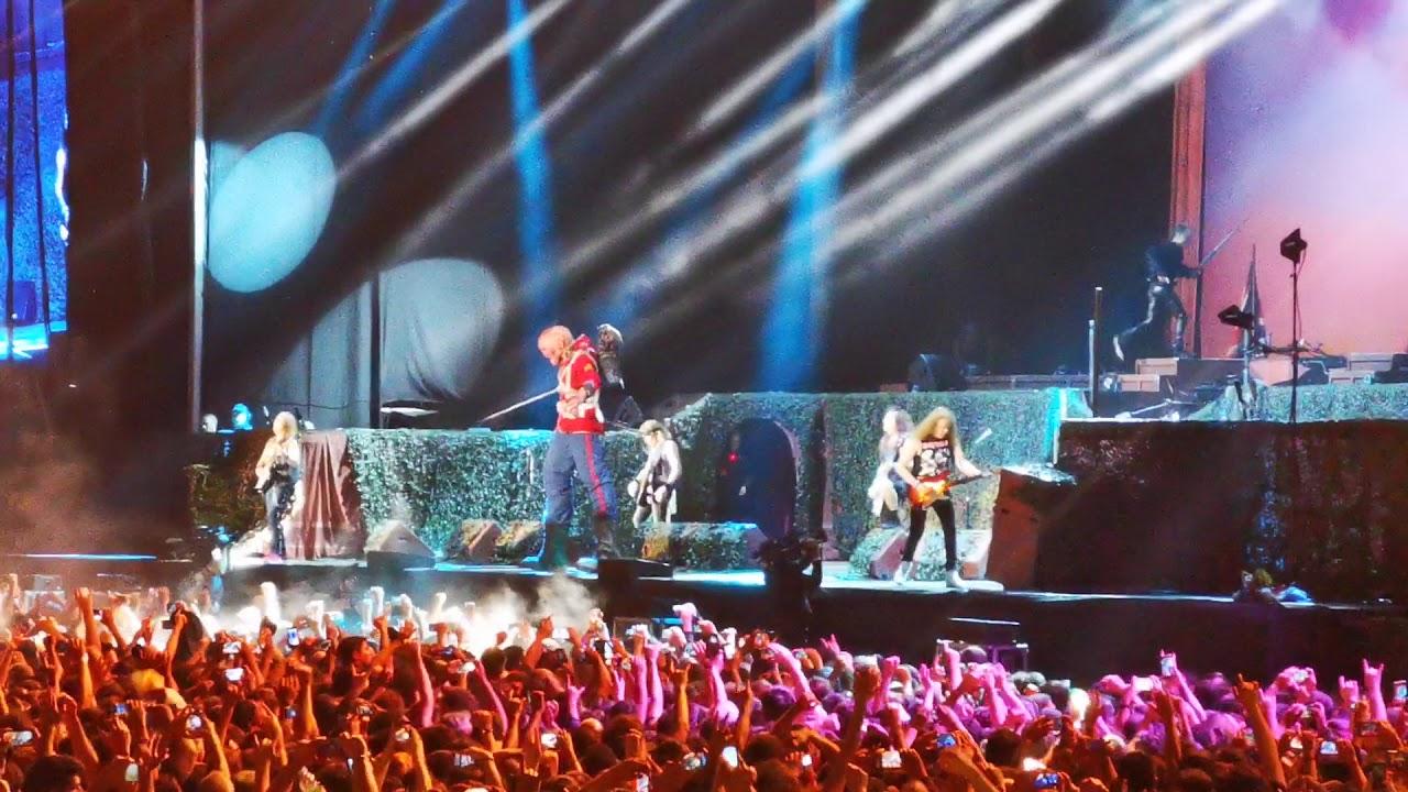 The Trooper - Iron Maiden - Argentina 2019 - Estadio Vélez