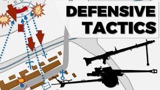 German Defensive Tactics - Eastern Front