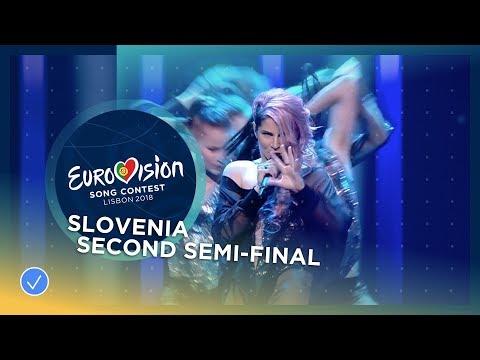 Lea Sirk - Hvala, ne!- Slovenia - LIVE - Second Semi-Final - Eurovision 2018