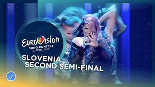 Lea Sirk - Hvala, ne!  - Slovenia - LIVE - Second Semi-Final - Eurovision 2018
