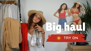 HAUL & TRY ON - summer ☀️