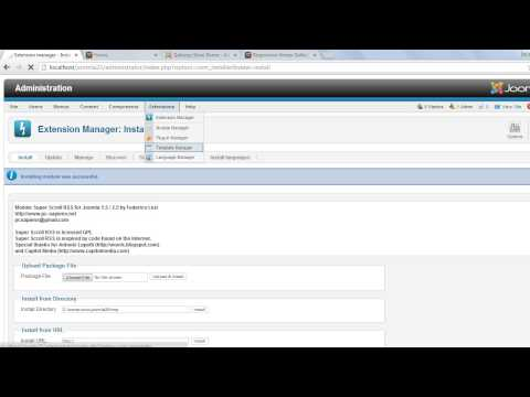 RSS Scroller Joomla Module