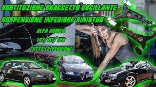 Inferiore DX Alfa Romeo 159 1.9 JTDM 150 CV Braccio Oscillante Braccetto Ant