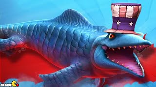 Hungry Shark Evolution: Mr. Snappy Highest Score Uncle Sam Hat!