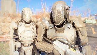 Fallout 4 - Heavy INSTITUTE ARMOR Corpus Praesidium - & Courser Armor