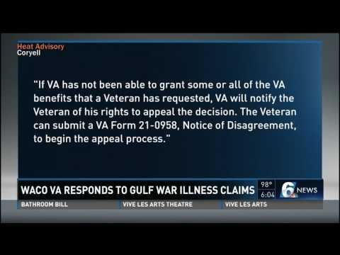 Waco VA responds to Gulf War illness claims
