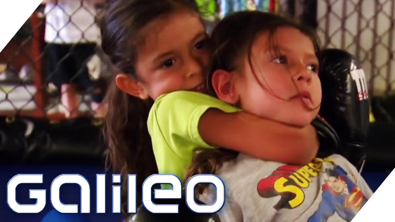 Cage Fighting Kids | Galileo | ProSieben