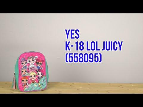 Распаковка Yes K-18 LOL Juicy 558095
