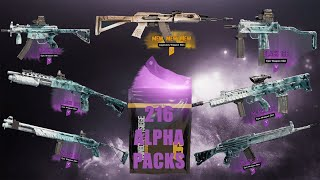 Void Edge 200+ Alpha Pack Opening | So Much Black Ice!!! | Best Opening On Youtube!?!?!