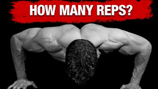 How Many Reps to Build Muscle (BODYWEIGHT EXERCISES!) thumbnail
