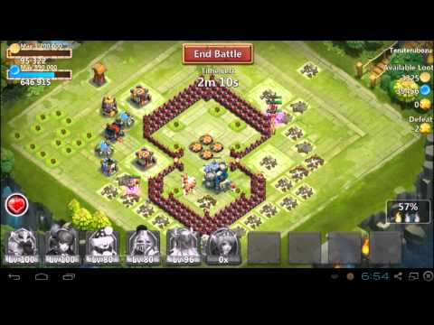CASTLE CLASH - HOW TO GET 10 HOUR FREE SHIELD