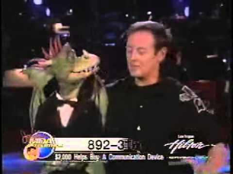 Ronn Lucas Ventriloquist Las Vegas Jerry Lewis Telethon 2006