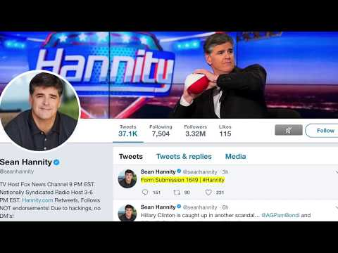 Form Submission 1649 the Mysterious Sean Hannity Tweet!