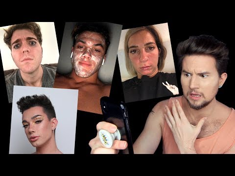 FACETUNING YOUTUBERS PRIVATE SELFIES