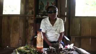 El curandero de pueblo Benigno Dahua