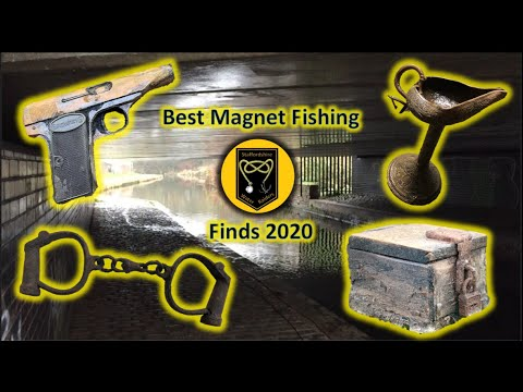 #11 Best Magnet Fishing Finds 2020 and amazing catches from around the world