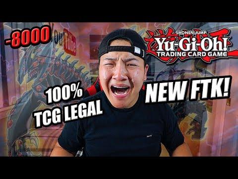 THE NEW YUGIOH FTK...(100% TCG LEGAL)