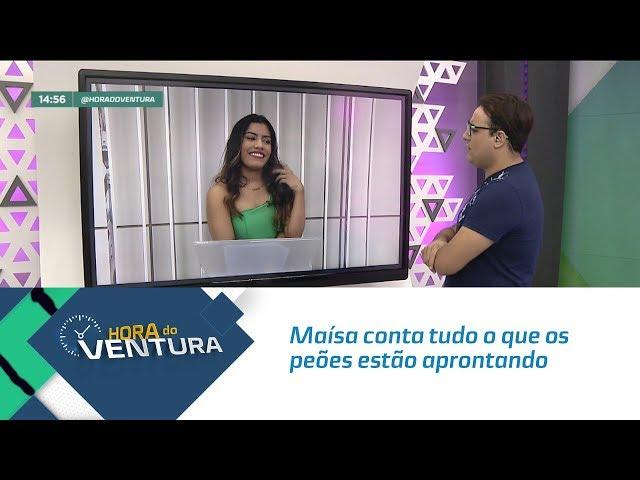 """Maísa conta tudo o que os peões estão aprontando em """"A Fazenda"""" - Bloco 02"""