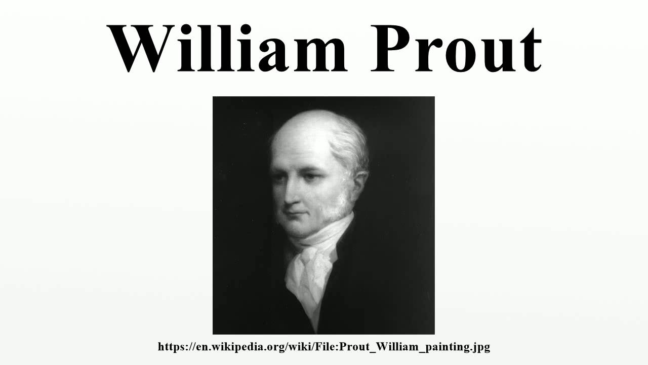 William prout youtube urtaz Image collections