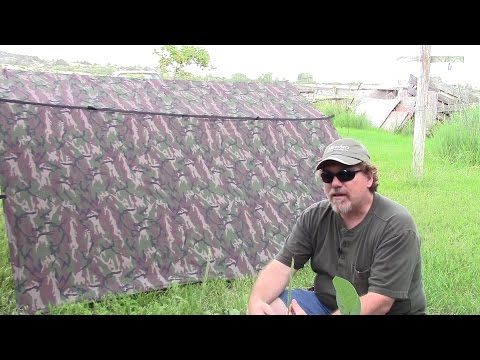 Aqua Quest Defender Camo 10X10 Waterproof Tarp.  It is SUPURB!