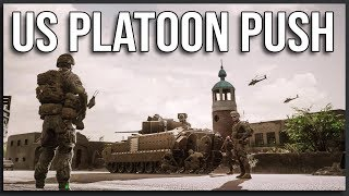 AGGRESSIVE US PLATOON PUSH - Squad (1-Life Event)