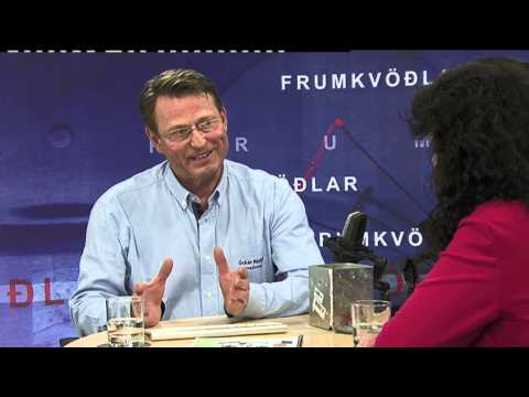 Viðtal á ÍNN - Frumkvöðlar 3. júlí 2014