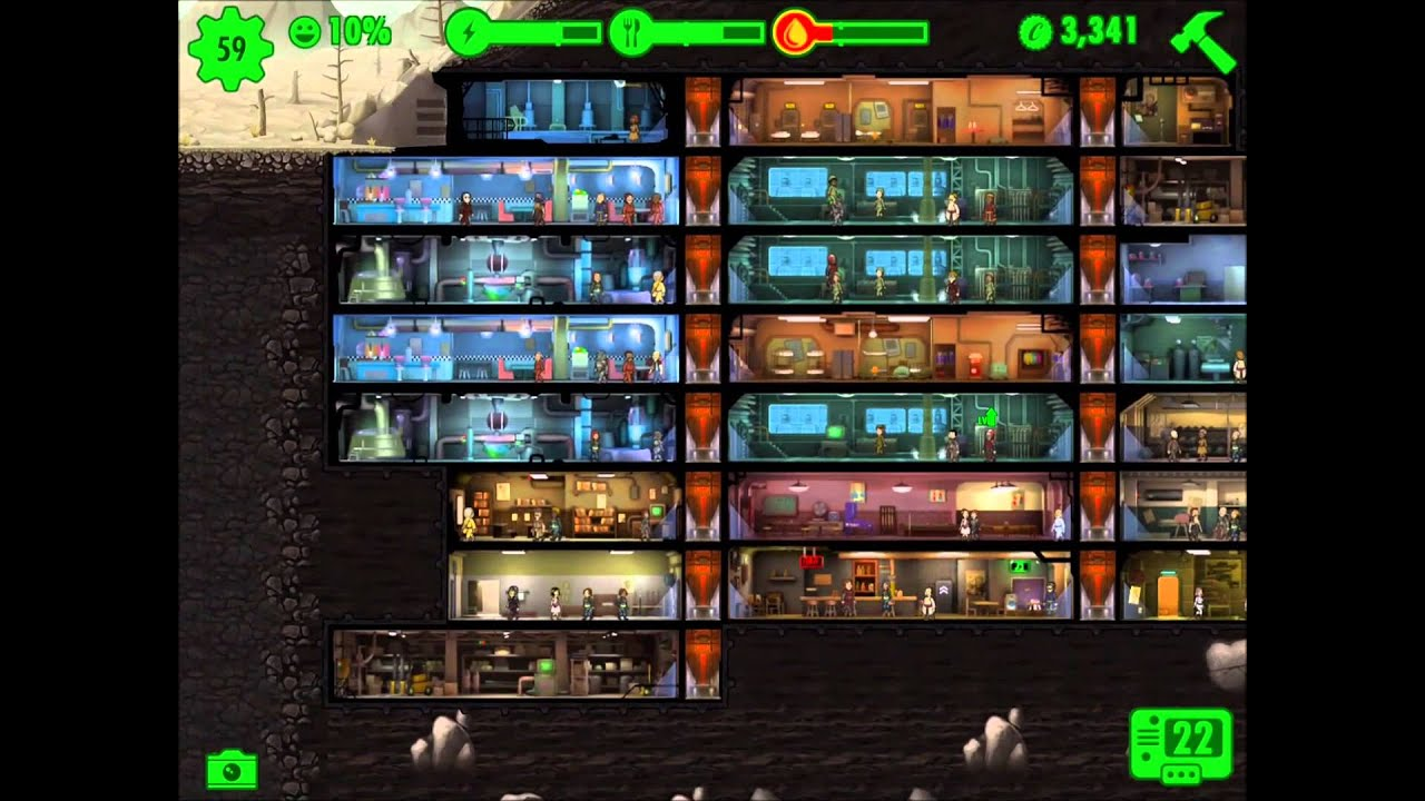 Fallout Shelter SHELTER DESIGN TIPS ANDROID USERS YouTube