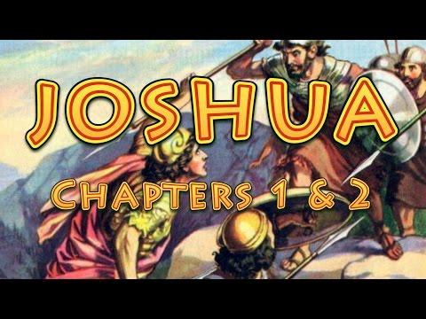 Joshua chapters 1 & 2 Bible Study