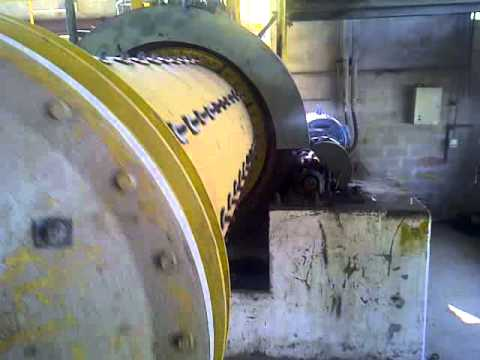Red Rock Resources: Colombia El Limon mine ball mill