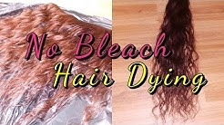 How To: LIGHTEN HAIR COLOUR WITHOUT BLEACH