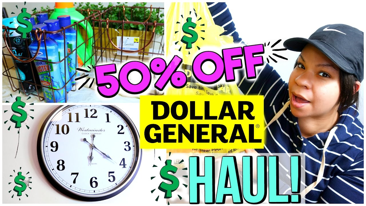 Dollar General Haul 50 Off Home Decor Sale Spring Essentials Sensational Finds