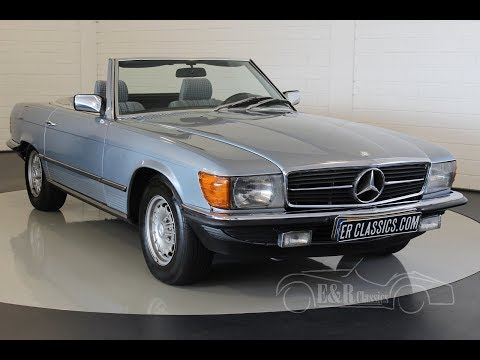 Mercedes-Benz 280 SL Cabriolet 1983 -VIDEO- www.ERclassics.com