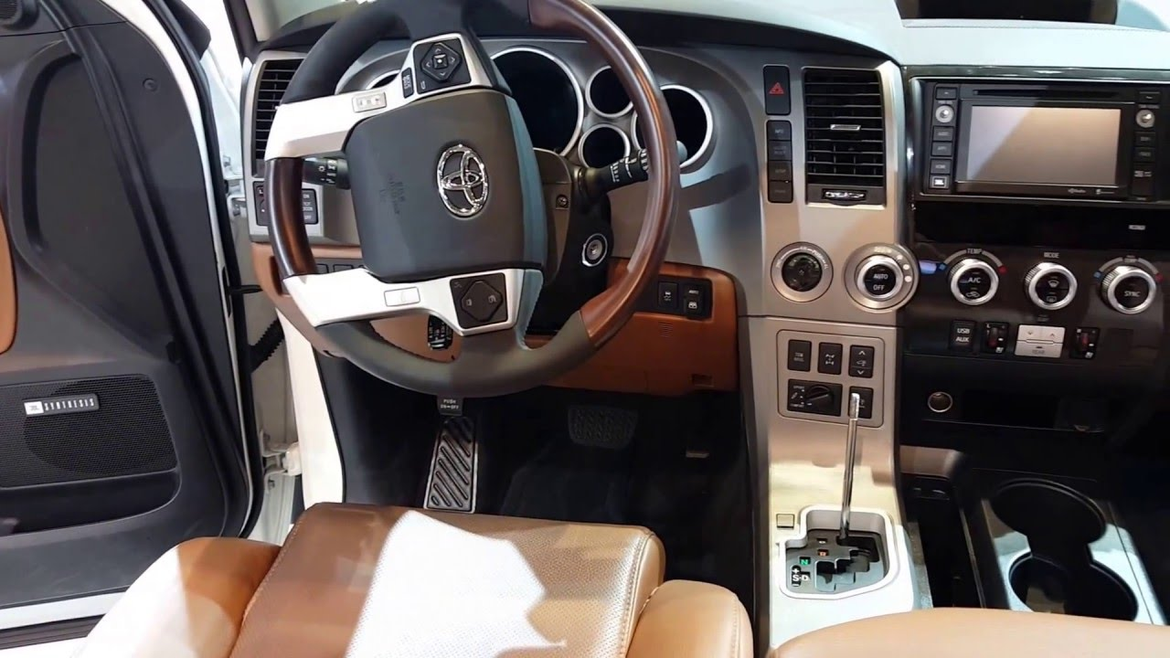 2016 Toyota Sequoia Platinum Interior Walkaround Price