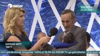Bizə danış - Xatırlatma 29.09.2016 / Bize danis - Xatirlatma