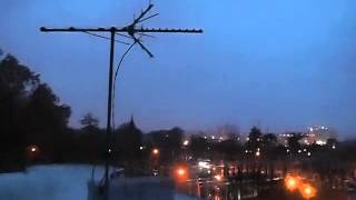 Hurricane Sandy from South Slope/Greenwood Cemetery Brooklyn NY