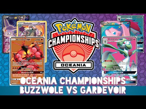 A Teacher Highlights... Buzzwole Garbodor VS Gardevoir Zoroark Pokemon TCG Oceania Championships