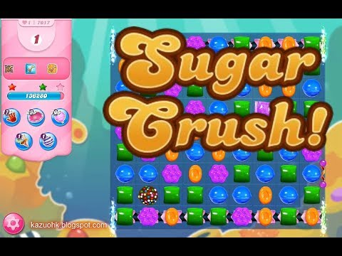 Candy Crush Saga Level 7017 (3 Stars, No Boosters)