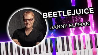 Beetlejuice for 2 pianos tutorial
