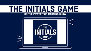 Game 50: May 15, 2015the Initials Game